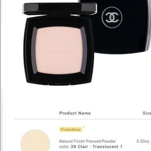 •AS IS LOW PRICE• CHANEL COMPACT UNIVERSAL POWDER